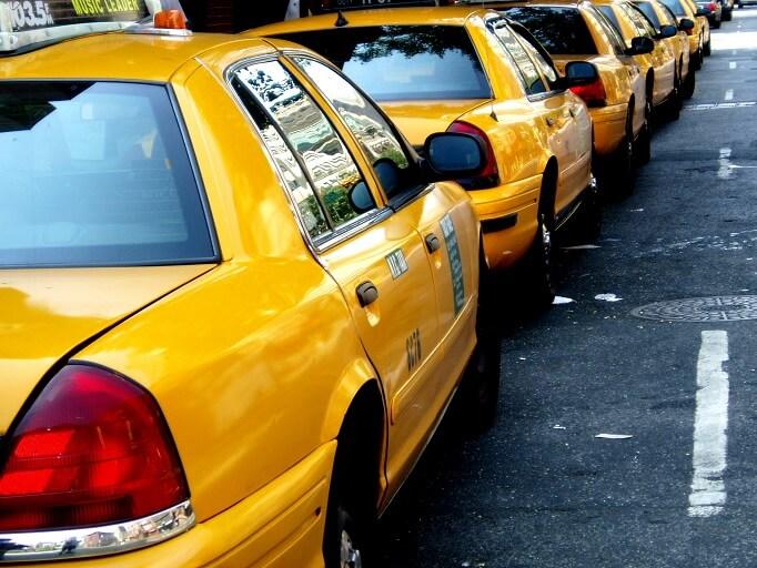 タクシーのチップ