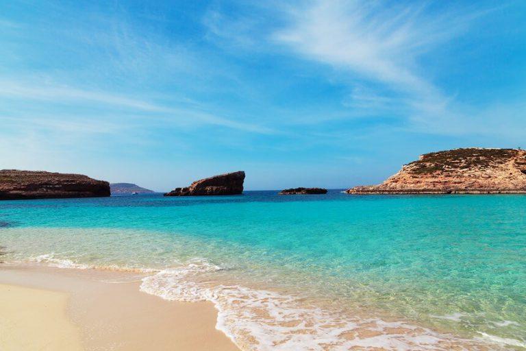 マルタの海水浴シーズン