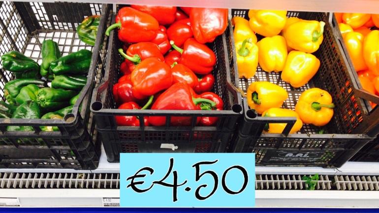 マルタの物価は安い